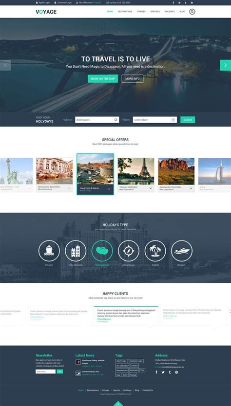 free website design 1000 ideas about travel website templates on travel website design website layout