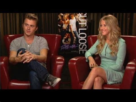 kenny wormald dancing with the stars footloose stars kenny wormald and julianne hough on remake