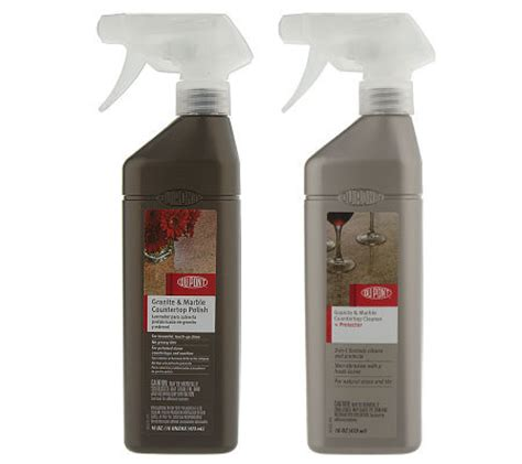 dupont granite marble 16oz cleaner protector and 16oz