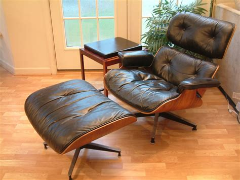 Eames Lounger And Ottoman by Mid Century Modern Herman Miller Eames Lounge Chair
