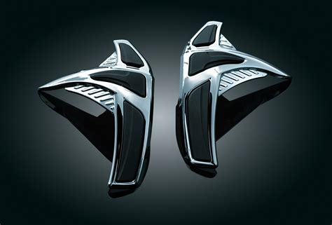 Emblem Krista By Kur Accesories saddlebag scuff protectors rear end covers trims