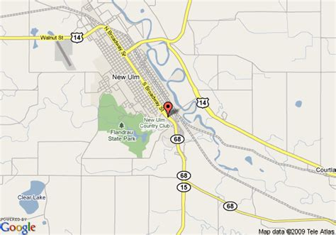 new ulm texas map map of inn new ulm new ulm