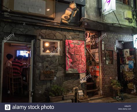 Tiny Bar A Glimpse Into A Tiny Bar In Golden Gai A Late