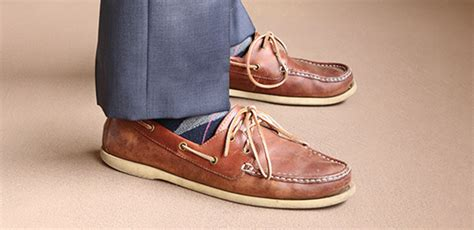 boat shoes and dress pants 10 rookie style errors
