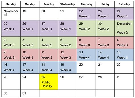 Calendar Calculator Days Of The Week Holidays Ministry Of Labour