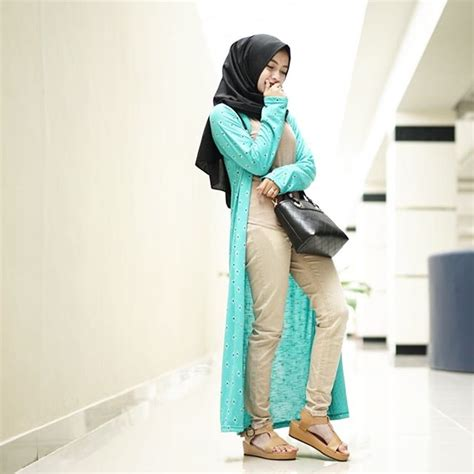 Baju Muslim Remaja Feminin Style Fashion Casual Remaja Trend Fashion