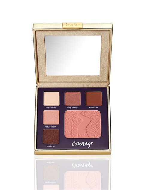 Promo Tarte Limited Edition Sw Eye Cheek Palette duty beauty eye cheek palette classic courage tarte cosmetics