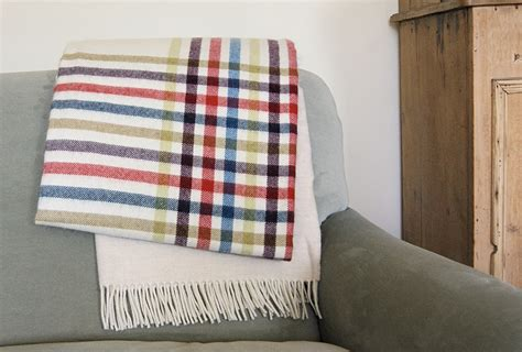 Alpaca Quilts by Beautiful Alpaca Blanket With Bright Stripes Home