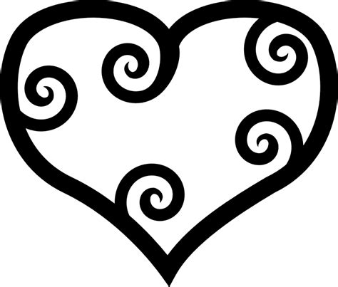 clipart black and white heart clipart black and white clipartion com