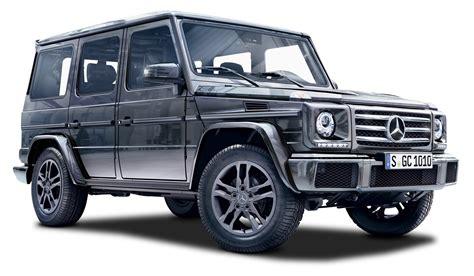 car jeep black black mercedes g class suv car png image pngpix