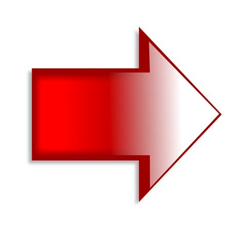 imagenes de flechas rojas right arrow red 183 free image on pixabay