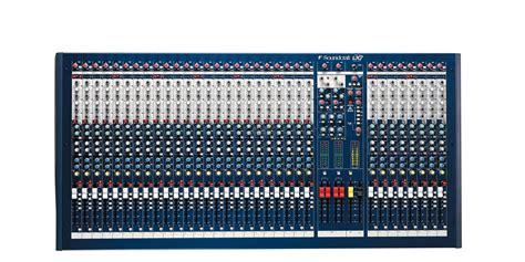 Mixer Soundcraft Spirit Lx7 24 Cnl soundcraft lx7ii 32 proffesional 32ch mixing desk audio