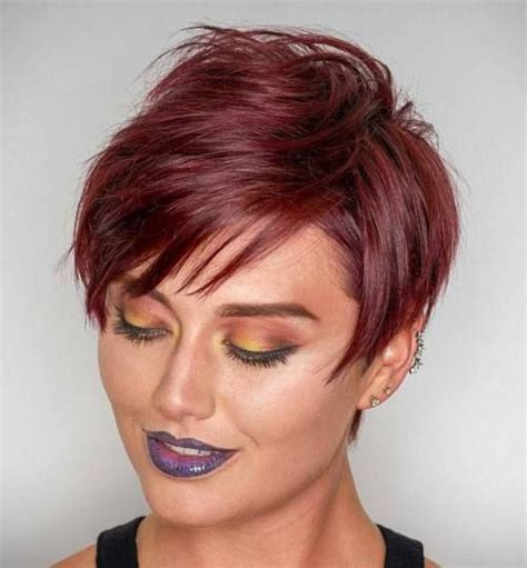 how to style a layered spikey shag haircut 70 short shaggy spiky edgy pixie cuts and hairstyles