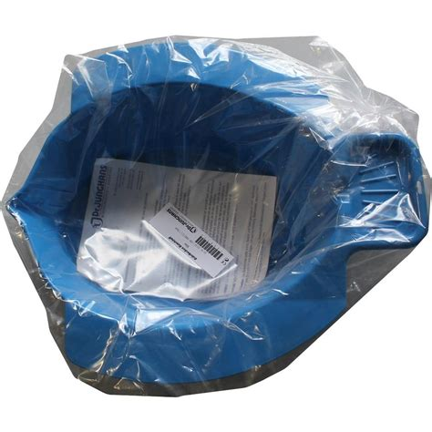 bidet becken kunststoff blau 1st - Bidet Becken