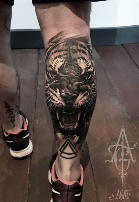 tiger thigh tattoos 804 best images about tattoos on discover best