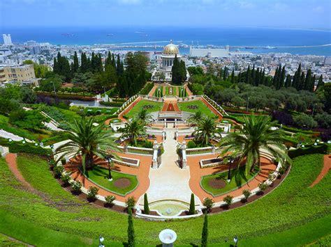 bahai gardens haifa israel places    haifa israel haifa israel