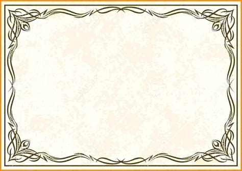 scroll certificate templates template scroll certificate template border design
