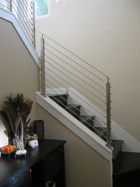 modern banisters stair railings my domesticated bliss