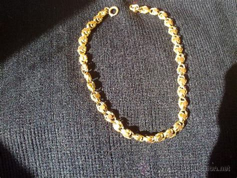 cadena oro 24 kilates precio antigua cadena de oro de 18 kilates semihueca comprar