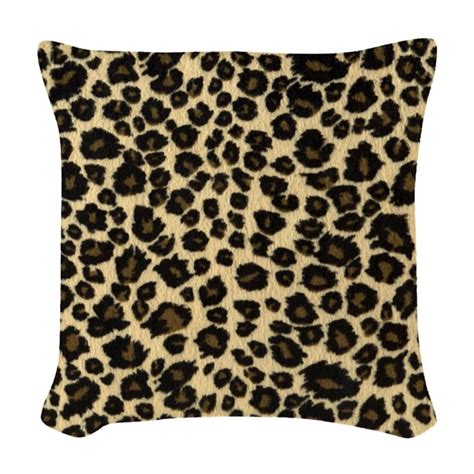 leopard couch pillows leopard print woven throw pillow by admin cp72600202