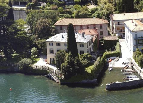 george clooney home in italy george clooney house lake como italy