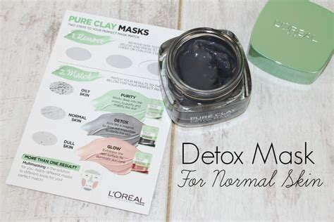 Detox Charcoal Mask Works by L Oreal Clay Masks Review Photos Glamglow Dupes