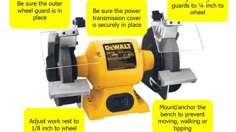 bench grinder safety bench grinder safety youtube