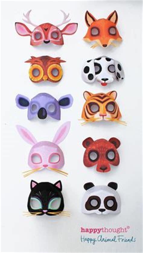 printable endangered animal masks cardboard mask masks and foxes on pinterest