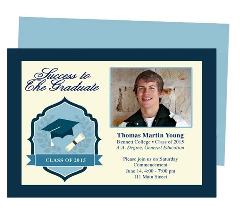 templates for graduation announcements achiever graduation template printable diy graduation