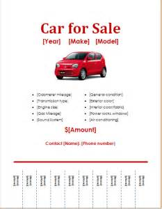 For Sale Ad Template by 3 Car Services Flyer Templates For Word Document Hub