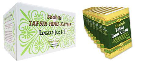 Shahih Tafsir Ibnu Katsir Edisi Lengkap 1 9 Pustaka Ibnu Katsir inspirasi nur imani tafsir al qur an per kata tafsir ibnu katsir jilid 1 10 shahih tafsir