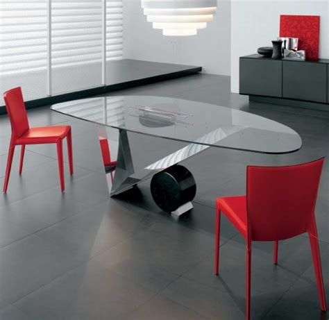 Glass Dining Room Table With Base 55 Glass Top Dining Tables With Original Bases Digsdigs