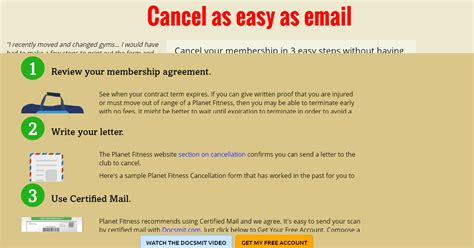 how to write cancellation letter for planet fitness cancel planet fitness membership
