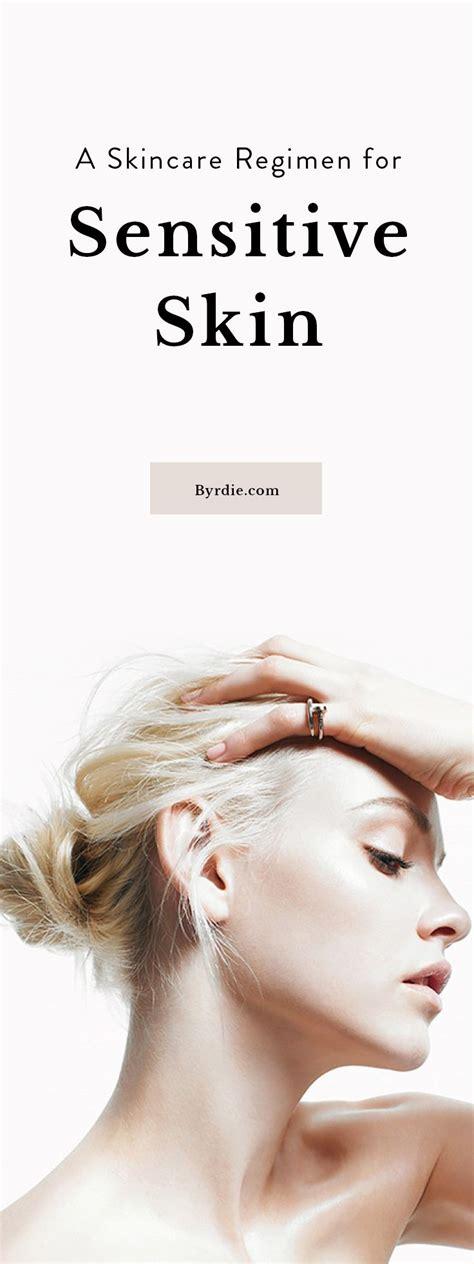 best food for sensitive skin the best skincare regiment for sensitive skin glavportal