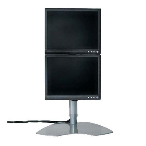 Monitor Lcd Vertical chief dual lcd monitor stand vertical onestop ergonomics