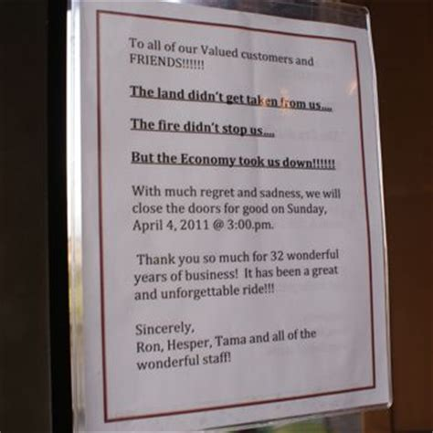 Closing Restaurant Letter To Customers West Seattle Blog West Seattle Restaurants Charlestown Caf 233 Closing