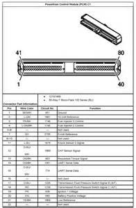 2005 06 vortec 4 8 5 3 amp 6 0l v8 pcm pinouts