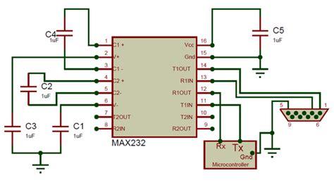 max232 ic pin diagram ic max232 pinout pin description features datasheet