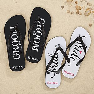 just married flip flops just married flip flops sandals personalized wedding adult flip flops just married