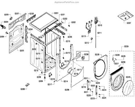 bosch dryer parts diagram bosch 00644665 hinge door appliancepartspros
