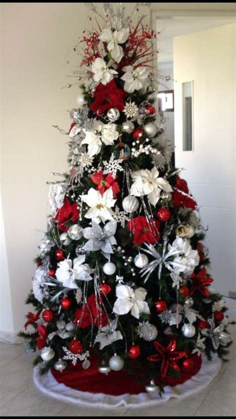 17 best ideas about arbol navidad blanco on pinterest