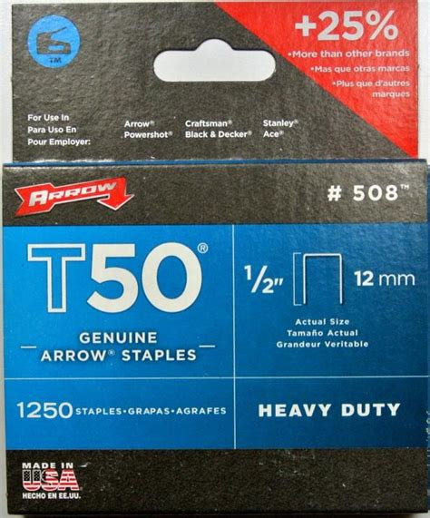 nails staples pty arrow t50 staples 1 2 12mm 1250pk joiman pty ltd t as fairbanks