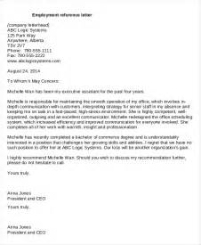 Reference Letter For Potential Employee 15 Reference Letters Free Premium Templates