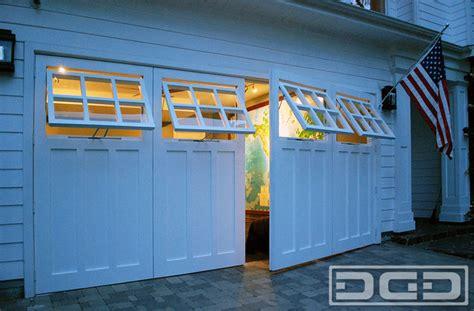Garage Doors That Swing Open by Coastal Custom Garage Door Conversion Carriage Doors For