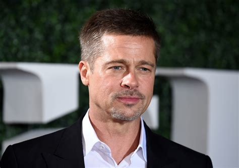 Brad Pitts by Brad Pitt Looks Tired And Worn Custody Battle