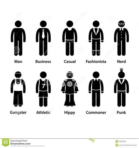 Goon L 50 Xl 44 karaktertype de mensenmens menselijk stokcijfer picto