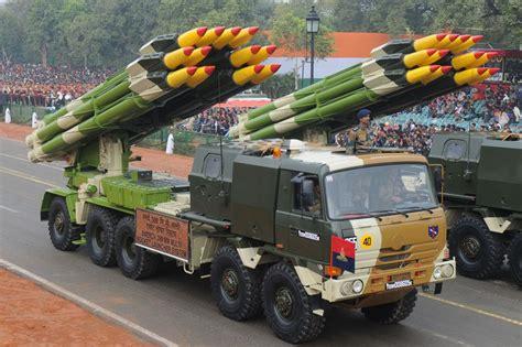 Smerch 300mm Multi Rocket Launcher System passes through ...