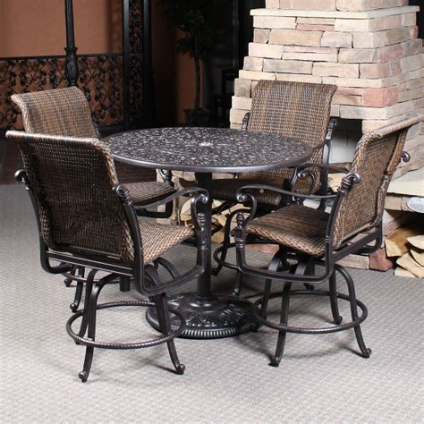 Bar Height Patio Furniture Set Bar Height Patio Sets Patio Design Ideas