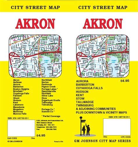 Summit County Ohio Search Akron Summit County Ohio Map Gm Johnson Maps