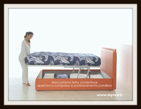 meccanismo per letto contenitore meccanismo letto contenitore